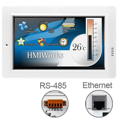 TPD-433 Pantallas HMI con PLC